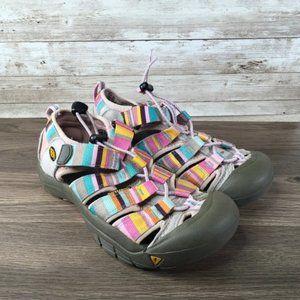 Keen Newport Multicolor Waterproof Sandal Girls 3